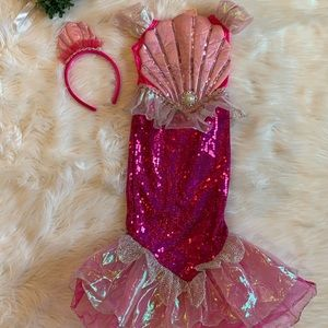 Nwot Mermaid pink costume